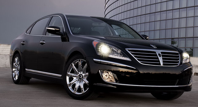 2011 hyundai equus full size luxury sedan. Black Bedroom Furniture Sets. Home Design Ideas