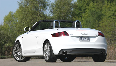 Audi TT Quattro Convertible Roadster LuxuryDiscoverycom - Audi sports car convertible