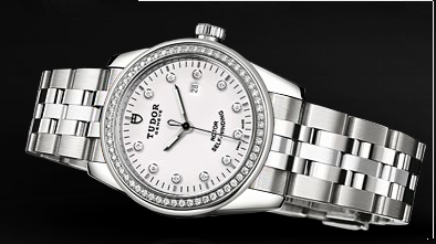 Tudor Glamour Date 31mm diamond luxury watch