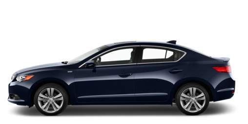 2014-acura-ilx-4-door-sedan-blue-side-exterior-view
