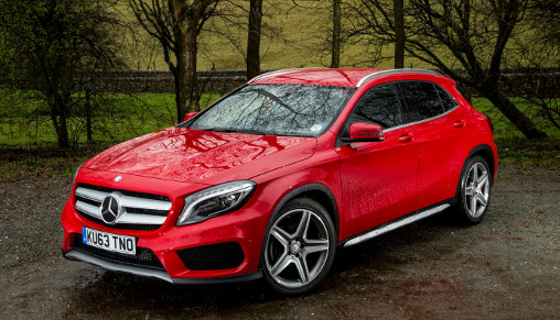 Red-Mercedes-GLA-front-angle-view_LuxuryDiscovery.com_